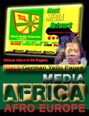 aa Black Diaspora MEDIA Focus EUROPE Afro European MEDIEN AFRO EUROPÄISCHE Schwarze MEDIA Focus EUROPE Black Community MEDIEN AFRO EUROPÄISCHE Pan African Diaspora MEDIA