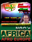 aa Black Diaspora NGO Germany Afro European VEREINE Deutschland Schwarze Afro Deutsche NGO Germany Black Community INITIATIVEN Germany Pan African Diaspora VEREINE