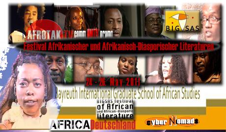 Afrika Literatur Festival Deutschland Diaspora Afrika Festival Afrikanischer und Afrikanisch Diasporischer Literaturen Bayreuth Afrika Diaspora Literatur Deutschland Festival Afrikanische Konzeptionen von Europa African Conceptions of Europe