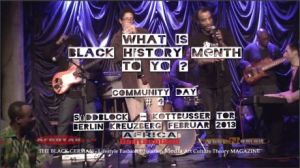 What is Black History Month to You - Afrika Diaspora Deutschland - Interviews with Joaquin La Habanna BAHATI Souleyman Toure Anthony Baguette WP