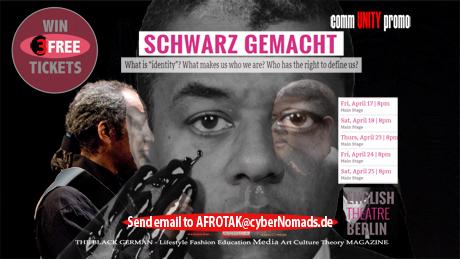 Schwarz Gemacht AFROTAK TV cyberNomads Afrika Theater Berlin